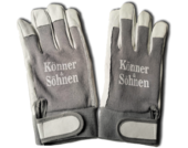 Перчатки Konner&Sohnen защитные, кожаные