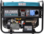 Бензиновый генератор Konner&Sohnen KS 7000E ГАЗ-БЕНЗИН