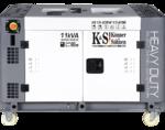 Дизельный генератор Konner&Sohnen KS 13-2DEW 1/3 ATSR (жидкостное охлаждение)