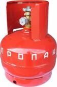 Баллон газовый бытовой NOVOGAS (5 л)