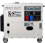 Дизельный генератор Konner&Sohnen KS 9202HDES-1/3 atsR (EURO II)