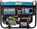 Фото - Бензиновый генератор Konner & Sohnen KS 7000E
