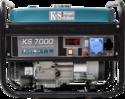 Фото - Двухтопливный генератор Konner&Sohnen KS 7000 ГАЗ-БЕНЗИН