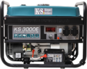 Фото - Бензиновый генератор Konner & Sohnen KS 3000E